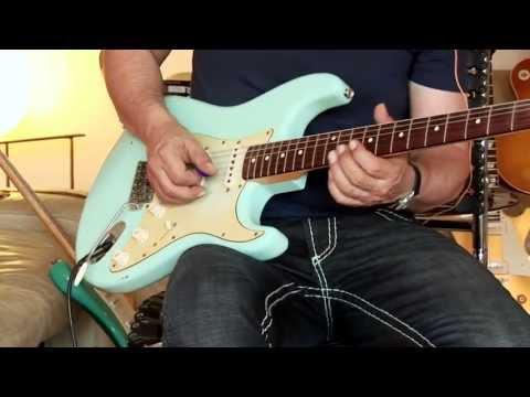 2003 Fender Custom Shop 1960 Stratocaster, relic, Sonic Blue, Part2