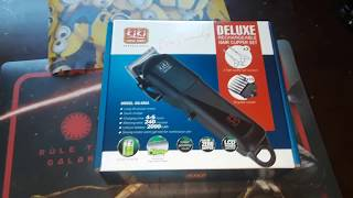 Unboxing Kiki cordless clippers