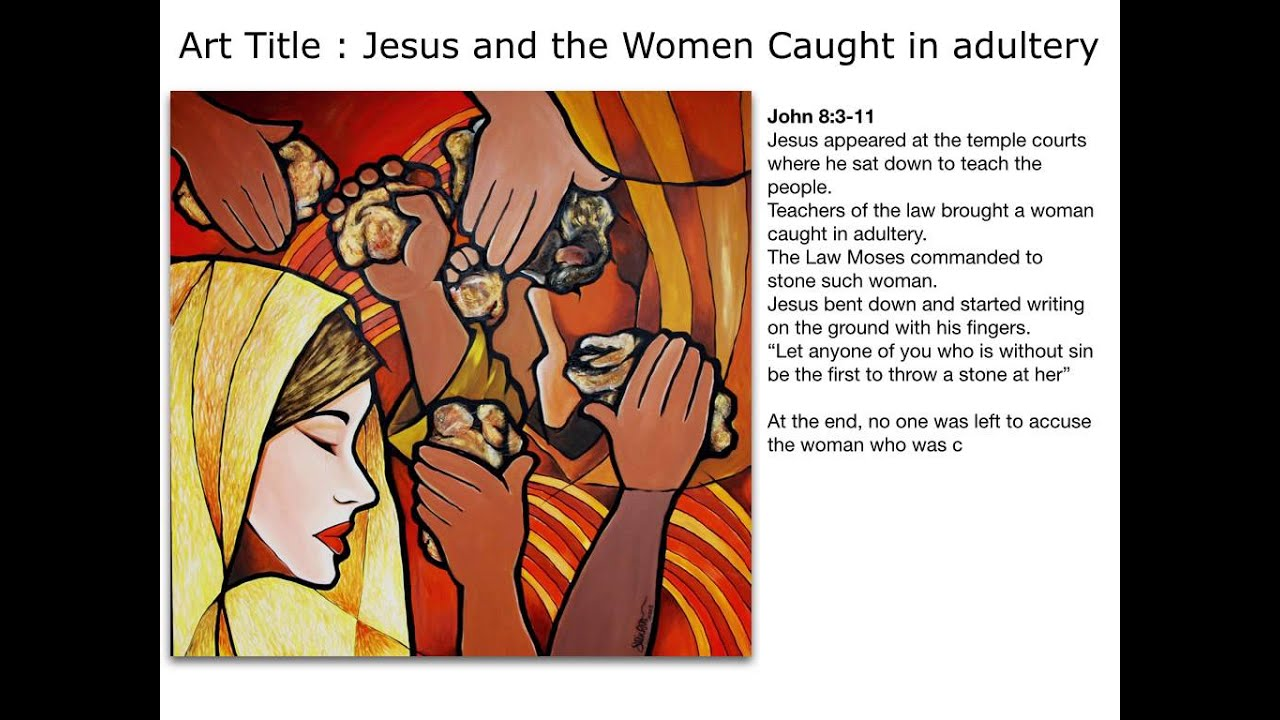 the irony of sin in david bevingtons woman taken in adultery Woman taken in adultery essay examples the irony of sin in david bevington's woman taken in adultery 2,356 words 5 pages.