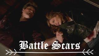 [sad multifandom] Battle scars