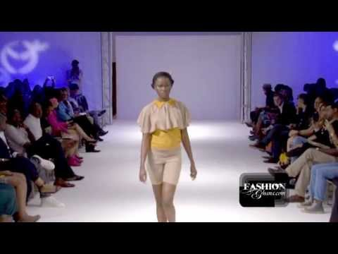 [HD] Akosh Tsibo Takyi @ Ghana Fashion & Design Week 2013 / Day 1 - Ready To Wear