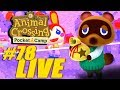 Under The Sea Theme Get Nooked with Leaf Tickets! - Animal Crossing: Pocket Camp Live Stream