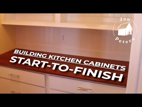 Kitchen Cabinets: START-TO-FINISH!