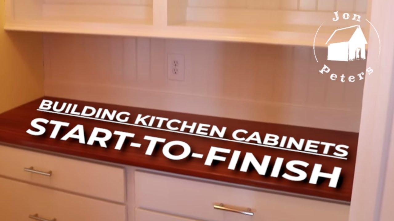 Kitchen Cabinets Start To Finish Youtube