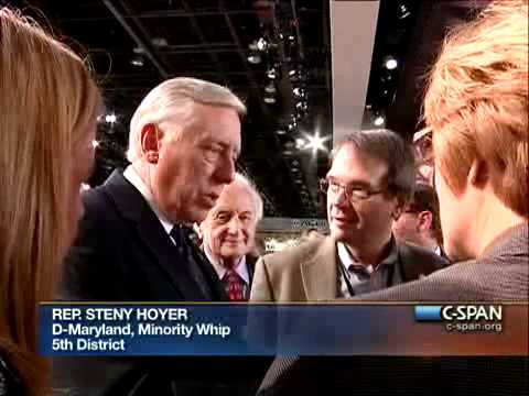 LCV: Detroit Auto Show with Rep. Hoyer & the MI Congressional Delegation