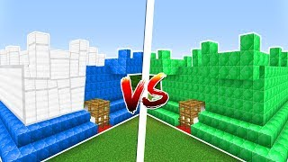DEMİR KALE VS ZÜMRÜT KALE! - Minecraft KALE SAVAŞLARI