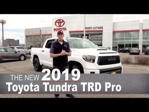 New 2019 Toyota Tundra TRD Pro | Minneapolis, Golden Valley, Coon Rapids, MN | Walk Around