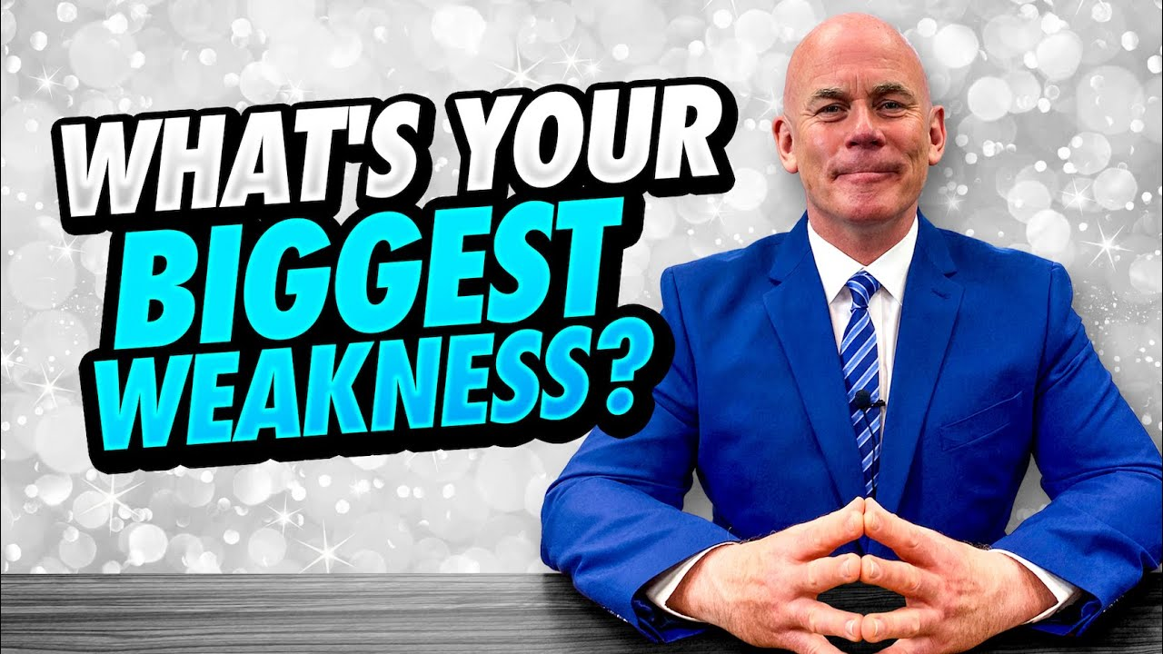 Download WHAT'S YOUR BIGGEST WEAKNESS? (11 GOOD WEAKNESSES To Use In A JOB INTERVIEW!)