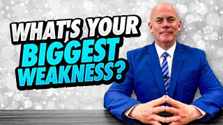 WHAT'S YOUR BIGGEST WEAKNESS? (11 GOOD WEAKNESSES To Use In A JOB INTERVIEW!)