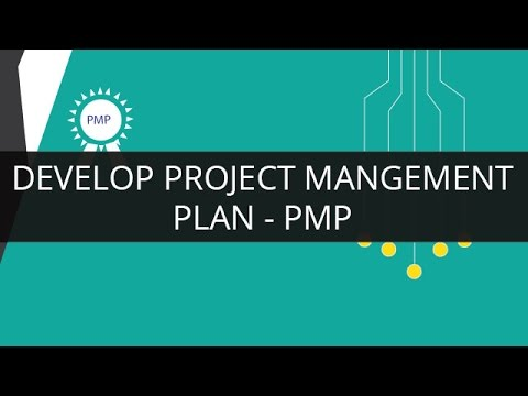 Develop Project Management Plan PMP Edureka - YouTube