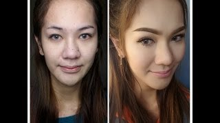 สกินเมคอัพ : Foundation, contour, hightlight and blush routine Thumbnail