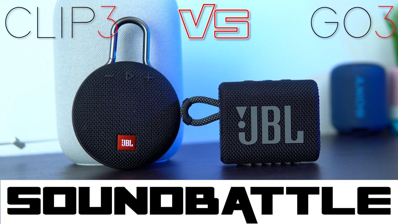 Download JBL Go3 vs JBL Clip3 SoundBattle | The Clip4 has higher bar to clear 👀