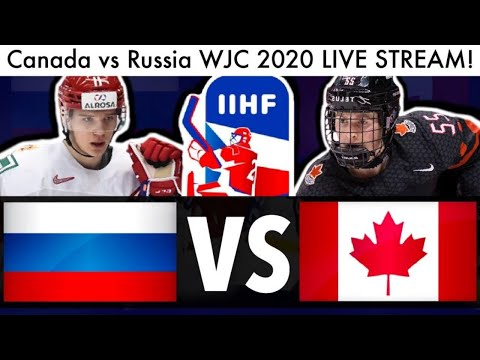 Canada Vs Russia WJC GAME LIVE STREAM! (2020 Reaction IIHF World Juniors Lafreniere NHL Draft Talk)