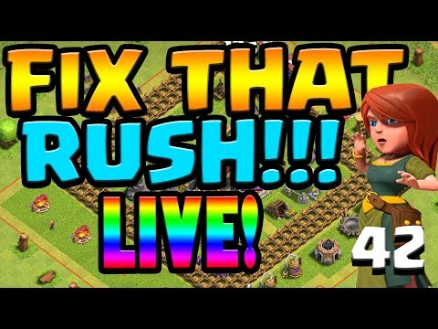 FARMING FRENZY!  Let's FIX THAT RUSH ep42 | Clash of Clans
