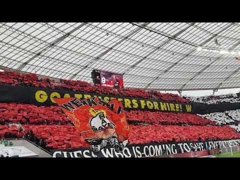 Bayer 04 Leverkusen - 1FC Köln 28.10.2017 Choreo