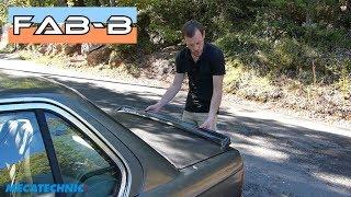 Installation du becquet d'origine sur BMW E30