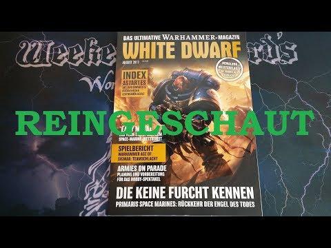 REINGESCHAUT: White Dwarf August 2017 (08/17)
