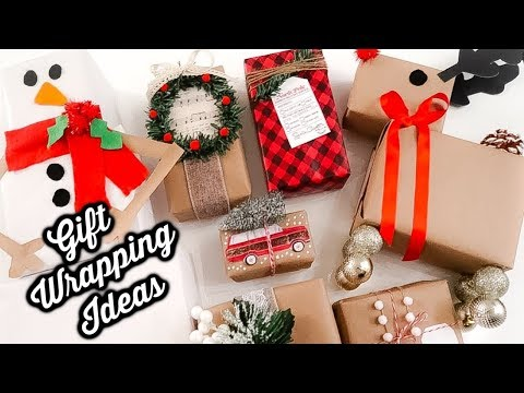 10 DIY DOLLAR TREE GIFT WRAPPING IDEAS | CHIC ON THE CHEAP