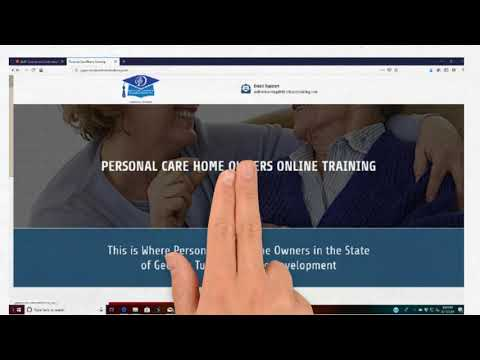 Georgia Residential Providers Instructional Training Video