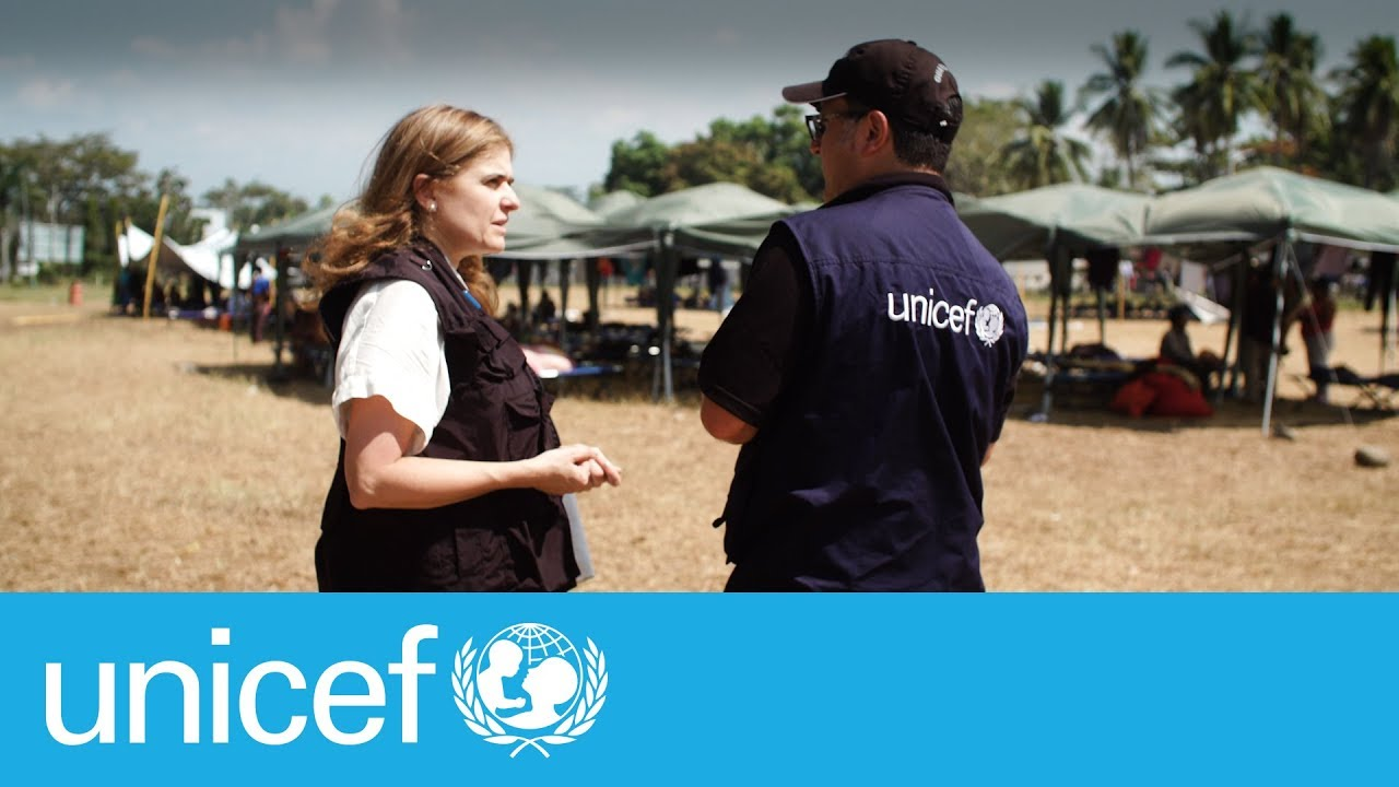 Just a reminder > At the Mexico and Guatemala border I UNICEF