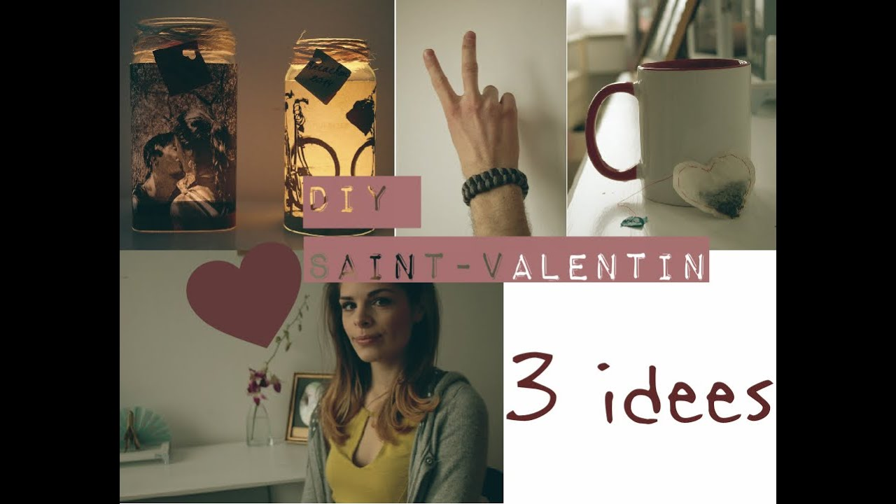 3 id es cadeau diy pour la saint valentin fille gar on youtube. Black Bedroom Furniture Sets. Home Design Ideas