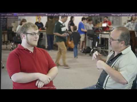 Athens Game Jam 2017 Interview with Miles Huff of Team KGB