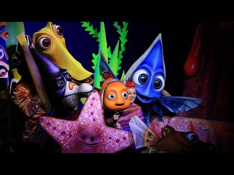 4K Finding Nemo the Musical 2015 Disney Worlds Animal Kingdom Full Show