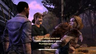 """The Walking Dead el Juego - Episodio 3: """"Un largo camino por delante"""" - Sub español"""