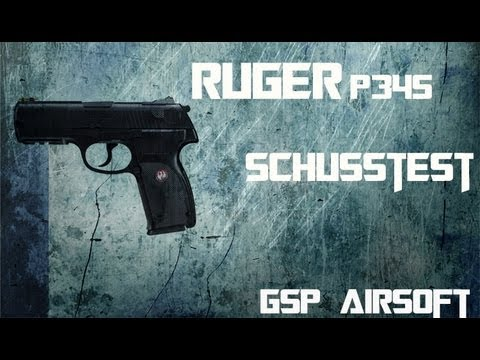"ruger-p345-co²-softair-""-schusstest""-(gsp-airsoft)-german"