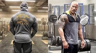 "Dwayne ""The Rock"" Johnson Training"