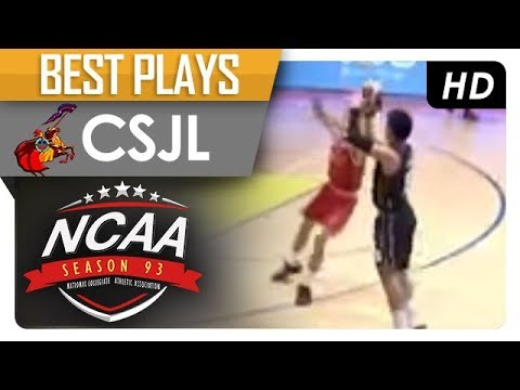 Bong Quinto beats the buzzer with a DEEP three! | CJSL | Best Plays | NCAA 93 MB