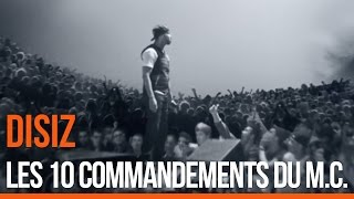 Disiz - Les 10 commandements du MC