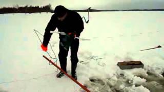 торпеда для протяжки сетей подо льдом с радиомаяком 2 часть