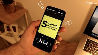5 Android Productivity Apps To Try