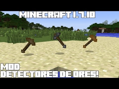 Minecraft 1.7.10 MOD DETECTORES DE ORES! Ore Prospector Mod Español!