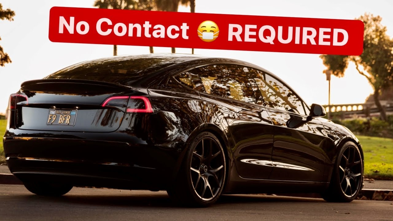 Tesla Model 3 2020 No Contact Delivery *New Delivery ...