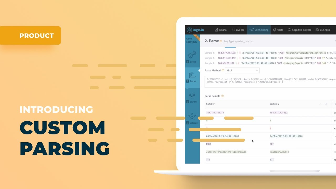Making Logs Your Own - Introducing Data Parsing | Logz io