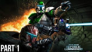 Star Wars Republic Commando Xbox One X Enhanced Gameplay - Mission 1: Extreme Prejudice