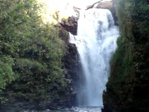 Cachoeira da Fumaça - Jaciara - MT - YouTube  Cachoeira da Fu...