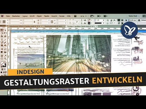 InDesign Tutorial - Gestaltungsraster entwickeln, Satzspiegel aufbauen, Folder erstellen