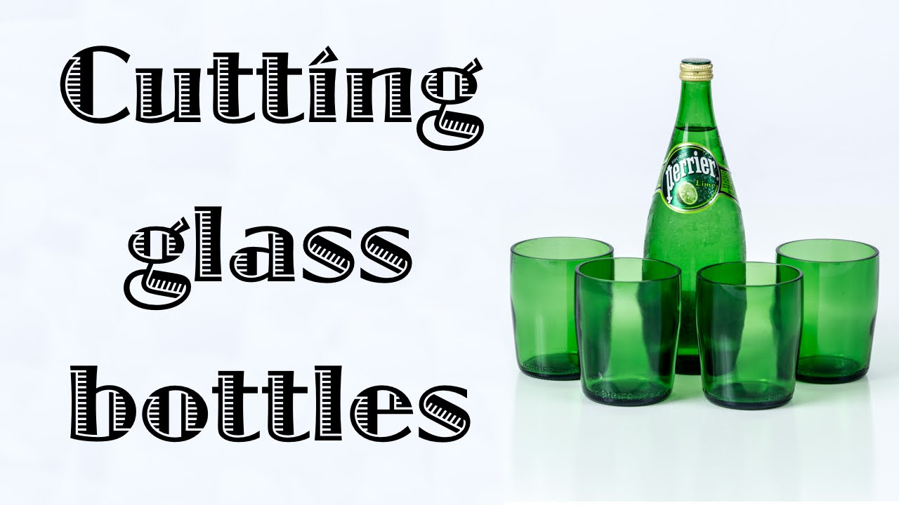 Cutting Glass Bottles With A Bottle Cutter Youtube