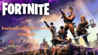 Fortnite doing missions to save the world with subs id epic artpro7 #TSB #arena #subs #STW