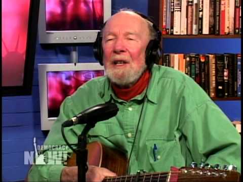 Pete Seeger & his (re-)actions during Bob Dylan's electrified performance at Newport 1965