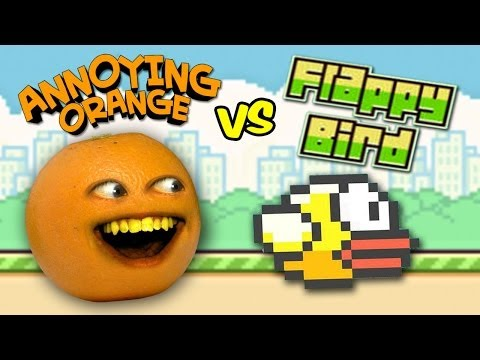 Annoying Orange Vs. Flappy Bird (SPOOF)