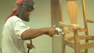 Building Koa Furniture – Dining Chair At Martin & Macarthur