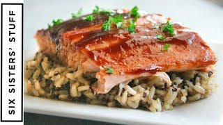 EASY 3 Ingredient BBQ Baked Salmon