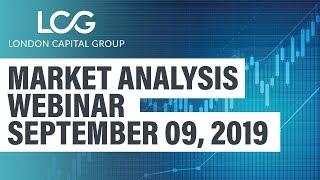 Weekly Market Analysis webinar (Sept 9, 2019)