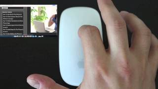 Gambar cover How To Use Apple Magic Mouse Gestures and Multi Touch