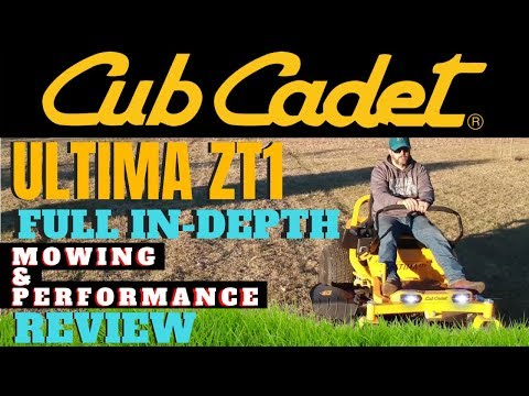 Cub Cadet ULTIMA ZT1 Zero Turn In-Depth Review | Mowing and Performance