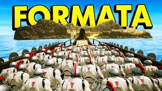 CONQUERING ISLANDS WITH NEW BOATS IN FORMATA (Formata Funny Gameplay)